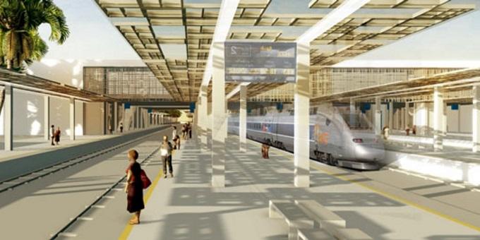 La Gare LGV Kenitra Sera Prête En 2017