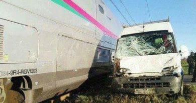 Asilah: Accident entre LGV et un véhicule de transport.