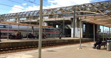 Gare LGV de Kénitra (Mars 2018)