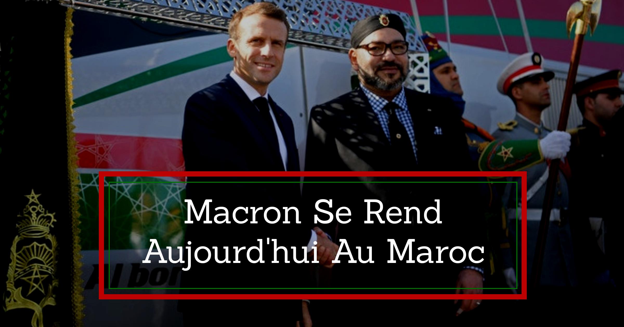 Macron se rend aujourd'hui au Maroc pour lancer la LGV avec le roi Mohammed VI